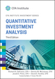 Quantitative Investment Analysis, 3rd Edition (111910422X) cover image