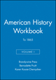 American History Workbook, Volume I: To 1865 (188108972X) cover image