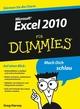 Excel 2010 für Dummies (352763892X) cover image