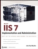 Microsoft IIS 7 Implementation and Administration (0470178930) cover image