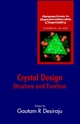 Crystal Design: Structure and Function (0470843330) cover image