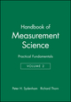 Handbook of Measurement Science, Volume 2: Practical Fundamentals (0471104930) cover image