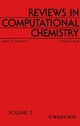 Reviews in Computational Chemistry, Volume 3 (0471188530) cover image