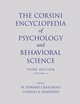 The Corsini Encyclopedia of Psychology and Behavioral Science, Volume 4, 3rd Edition (0471270830) cover image