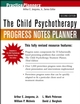 The Child Psychotherapy Progress Notes Planner, 2nd Edition (0471614130) cover image
