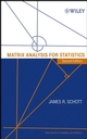 Matrix Analysis for Statistics, 2nd Edition (0471669830) cover image