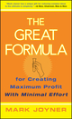 The Great Formula: for Creating Maximum Profit with Minimal Effort (0471778230) cover image
