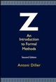 Z: An Introduction to Formal Methods, 2nd Edition (0471939730) cover image
