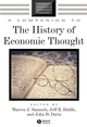 A Companion to the History of Economic Thought (0631225730) cover image