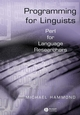 Programming for Linguists: Perl for Language Researchers (0631234330) cover image