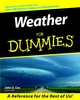 Weather For Dummies (0764552430) cover image