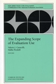 The Expanding Scope of Evaluation Use: New Directions for Evaluation, Number 88 (0787954330) cover image