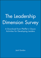 The Leadership Dimension Survey: A Download from Pfeiffer's Classic Activities for Developing Leaders (0787973130) cover image