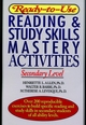 Ready-to-Use Reading & Study Skills Mastery Activities: Secondary Level (0876285930) cover image