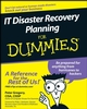 IT Disaster Recovery Planning For Dummies (1118050630) cover image