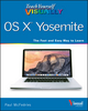 Teach Yourself VISUALLY OS X Yosemite (1118991230) cover image