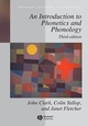 An Introduction to Phonetics and Phonology, 3rd Edition (1405130830) cover image
