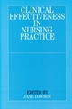 Clinical Effectiveness in Nursing Practice (1861561830) cover image