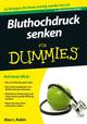 Bluthochdruck senken für Dummies, 2. Auflage (3527668330) cover image