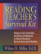 The Reading Teacher's Survival Kit: Ready-to-Use Checklists, Activities and Materials to Help All Students Become Successful Readers (0130425931) cover image