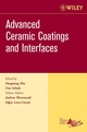 Advanced Ceramic Coatings and Interfaces, Volume 27, Issue 3 (0470080531) cover image