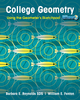 College Geometry: Using the Geometer's Sketchpad (0470534931) cover image