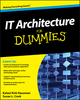 IT Architecture For Dummies (0470554231) cover image