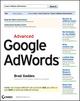 Advanced Google AdWords (0470640731) cover image