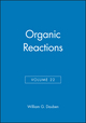Organic Reactions, Volume 22 (0471196231) cover image