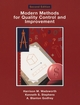 Modern Methods For Quality Control and Improvement, 2nd Edition (0471299731) cover image