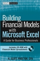 Building Financial Models with Microsoft Excel: A Guide for Business Professionals (0471661031) cover image