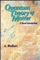 Quantum Theory of Matter: A Novel Introduction (0471963631) cover image