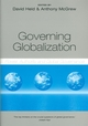 Governing Globalization: Power, Authority and Global Governance (0745627331) cover image