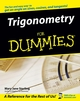 Trigonometry For Dummies (0764569031) cover image
