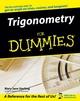 Trigonometry For Dummies® (0764569031) cover image
