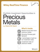 Portfolio Investment Opportunities in Precious Metals (1118503031) cover image