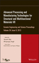 Advanced Processing and Manufacturing Technologies for Structural and Multifunctional Materials VII: Ceramic Engineering and Science Proceedings, Volume 34 Issue 8 (1118807731) cover image