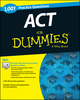 1,001 ACT Practice Questions For Dummies (+ Free Online Practice) (1118911431) cover image