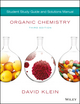 Organic Chemistry Student Solution Manual / Study Guide, 3rd Edition (1119422531) cover image