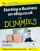 Starting a Business on eBay.co.uk For Dummies (1119997631) cover image