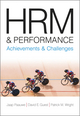 HRM and Performance: Achievements and Challenges (1405168331) cover image