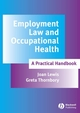Employment Law and Occupational Health: A Practical Handbook (1405172231) cover image
