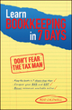 Learn Bookkeeping in 7 Days: Don't Fear the Tax Man (1742469531) cover image