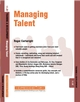 Managing Talent: Training and Development 11.7 (1841124931) cover image