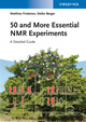 50 and More Essential NMR Experiments: A Detailed Guide (3527334831) cover image