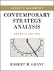 Cases to Accompany Contemporary Strategy Analysis, 7th Edition (0470686332) cover image