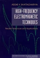 High-Frequency Electromagnetic Techniques: Recent Advances and Applications (0471559032) cover image
