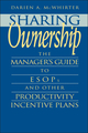 Sharing Ownership: The Manager's Guide to ESOPs and Other Productivity Incentive Plans (0471577332) cover image