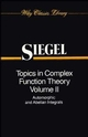Topics in Complex Function Theory, Volume 2: Automorphic Functions and Abelian Integrals (0471608432) cover image