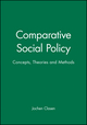Comparative Social Policy: Concepts, Theories and Methods (0631207732) cover image